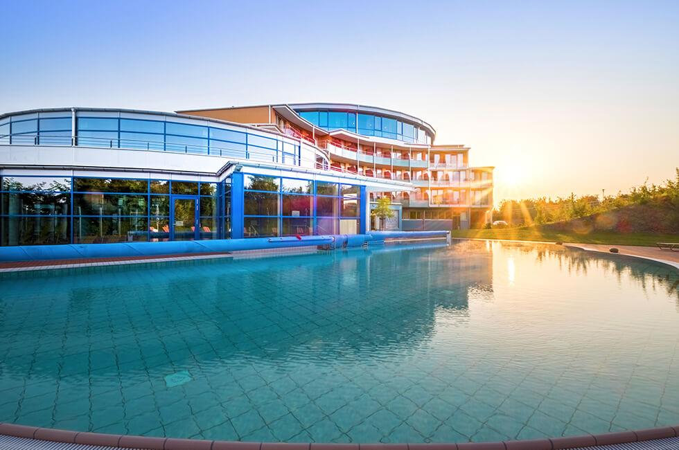 Vier-Sterne Gesundheitshotel mit Thermalsole-Außenbecken in Mecklenburg-Vorpommern