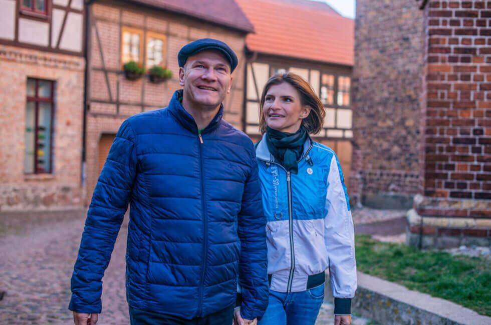 Spaziergang Stadt Waren (Müritz)