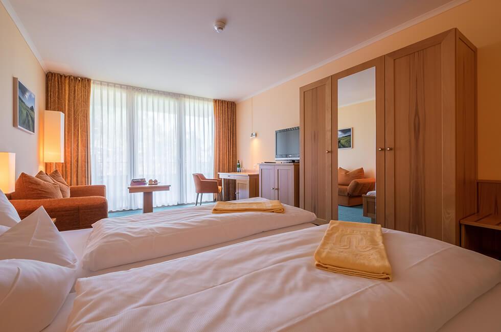Helle und freundliche Zimmer im 4-Sterne Hotel in Waren