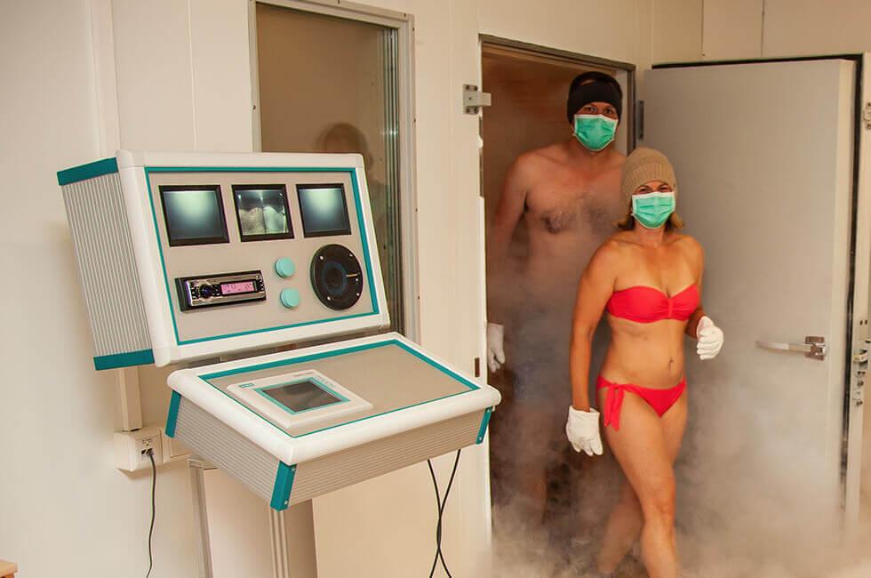 Ganzkörperkältetherapie mit minus 110 Grad Celsius für Ihre Gesundheit, Wellness, Fitness und sportlichen Leistungen