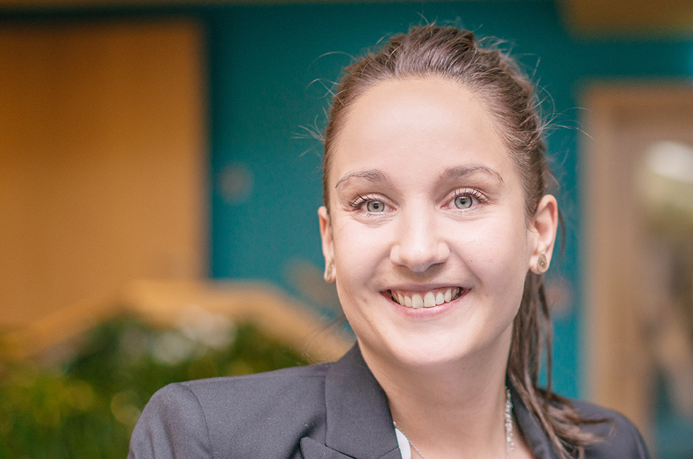Kurzentrum Waren (Müritz) –Rezeptionsleiterin Kristin Liewert