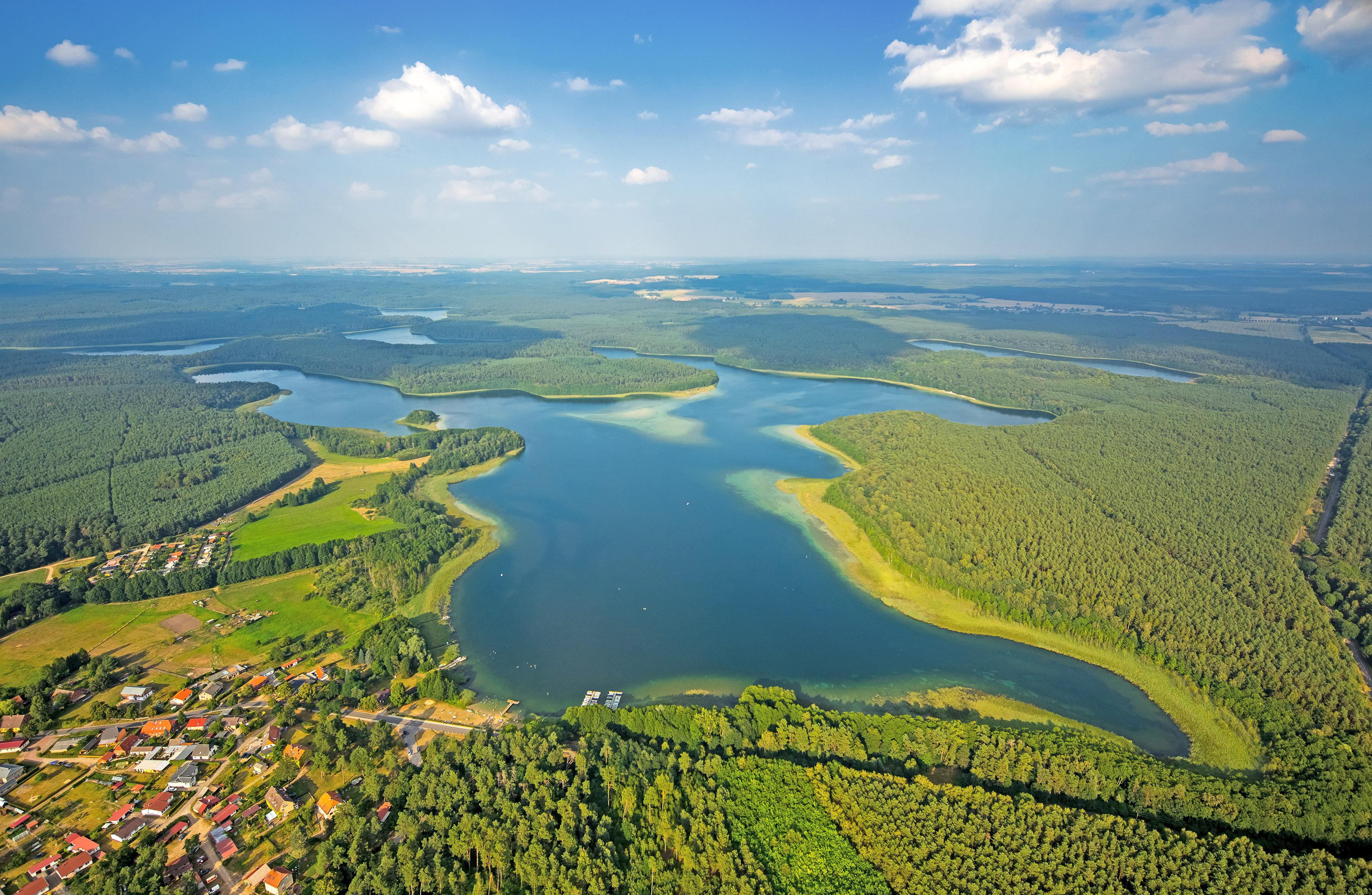 Großer Fürstenseer See in der Mecklenburger Seenlandschaft , © 1000seen, Blossey