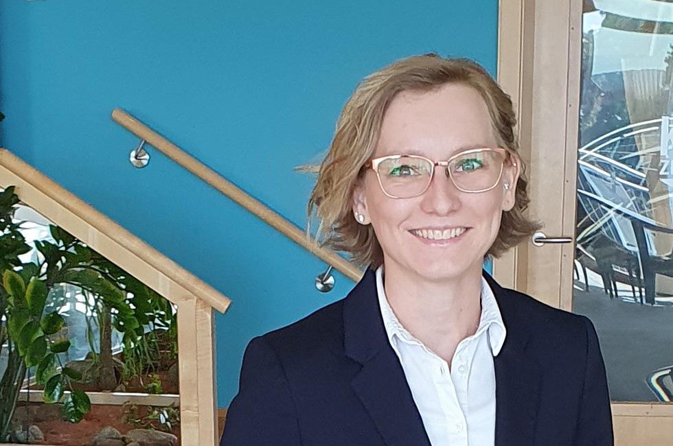 Kurzentrum Waren (Müritz) –Direktionsassistentin Tina Kröger